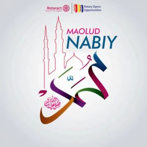 ROTARACT DISTRICT 9110 NIGERIA WISHES ALL MUSLIMS FAITHFULS A PEACEFUL MAOLUD NABIY CELEBRATION